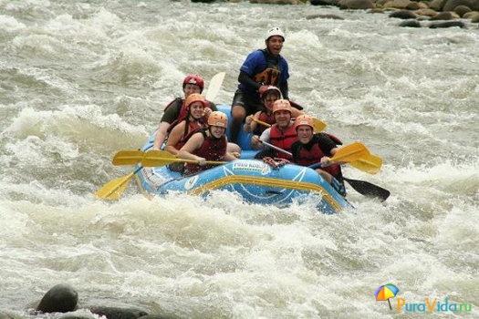 Рафтинг по реке Sarapiqui