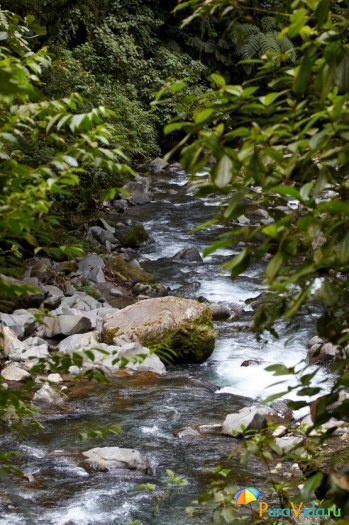 Река в парке Мундо Авентура