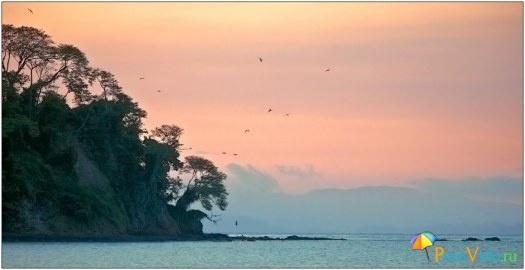 Расвет в Пунта Леоне