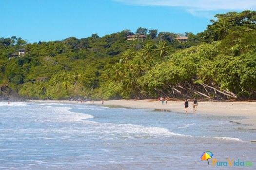 Пляж Мануэль Антонио. Вид с воды :)