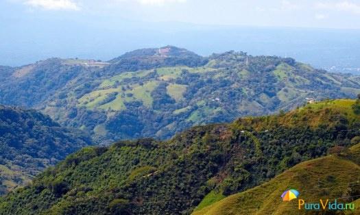 Ландшафты Коста-Рики