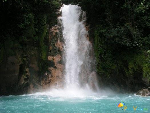 Водопад Рио Селесте