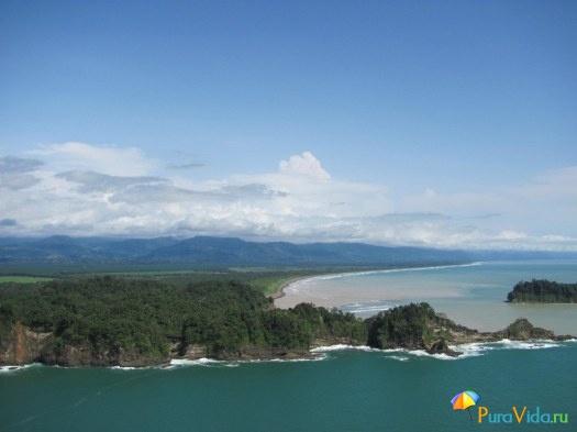 Южное побережье Тихого океана Коста Рики