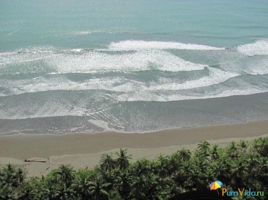 Пляж тихоокеанского побережья