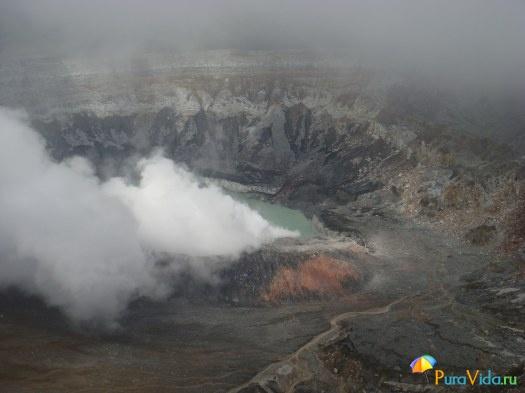 вулкан Поас, 04.01.2011