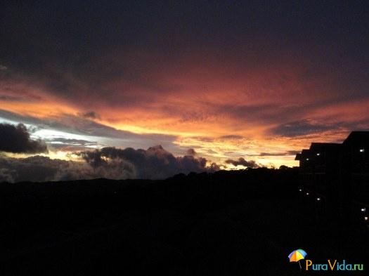 Закат в Монтевердэ