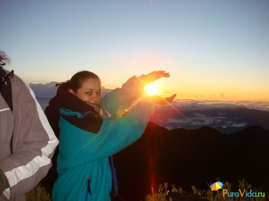 Isabel на вершине